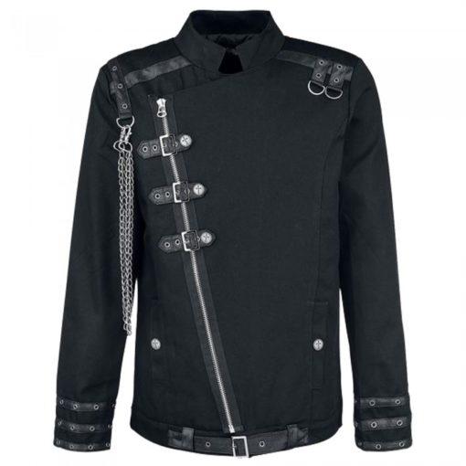 light duty gothic jacket, chrome gothic jacket, rust-free chrome gothic jacket
