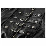 Long-Black-Gothic-Leather-Coat-closeup