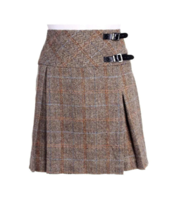 Harris Tweed Billie-Style Kilt for Women.