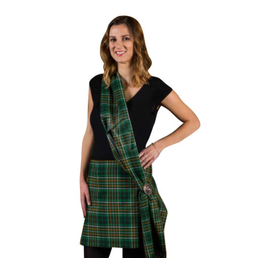 Tartan Mini kilt for women are available for sale here.