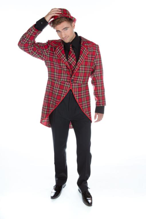 Men's Tartan Tailcoat