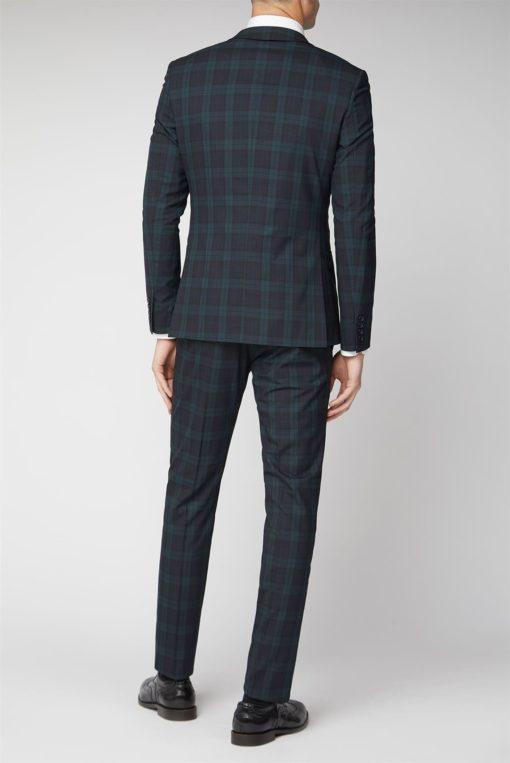 Black watch Mens tartan suit Jacket for sale.
