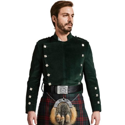 Montrose Green Velvet Jacket for Men available in low prices.