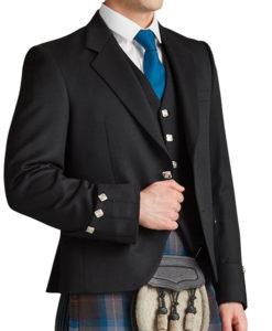 Prince Charlie Kilt Jacket for Men for sale.
