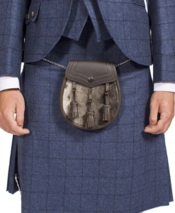 Men's Checked Tweed Kilt for Sale.