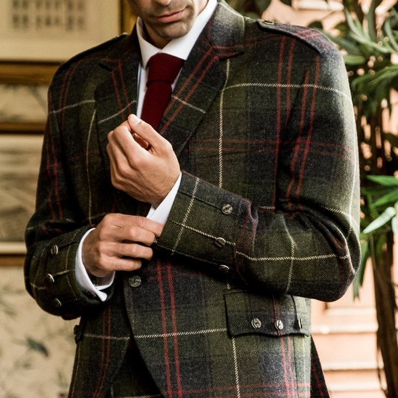 Tartan Argyll Jacket for Sale for Men.