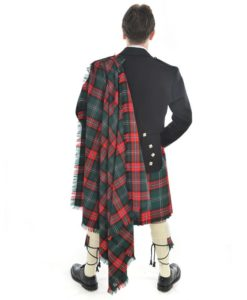 Men's tartan fly plaid for sale.